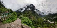 Valley-of-Flowers-Trek-Day02-Govindghat-Panaromic-View