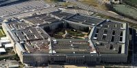 This picture taken December 26, 2011 shows the Pentagon building in Washington, DC.   Headquarters of the United States Department of Defense (DOD),  the Pentagon is the world's largest office building by floor area, with about 6,500,000 sq ft (600,000 m2), of which 3,700,000 sq ft (340,000 m2) are used as offices. Approximately 23,000 military and civilian employees and about 3,000 non-defense support personnel work in the Pentagon. AFP PHOTO (Photo credit should read -/AFP/Getty Images)
